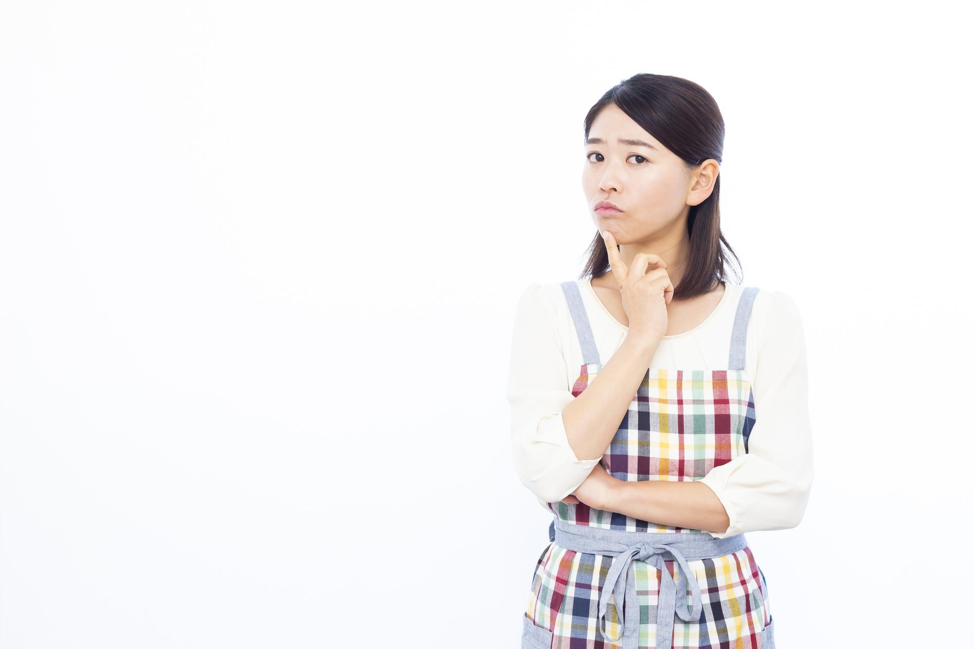 イオン銀行カードローン口コミ-考え事をする専業主婦